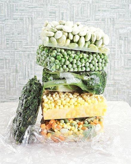 Pravilno zamrznjena zelenjava obdrži skoraj vso hranilno vrednost.