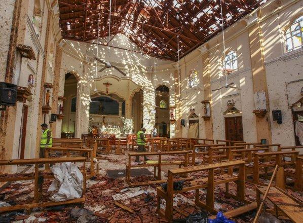 Število smrtnih žrtev v Šrilanki se je povzpelo na 290