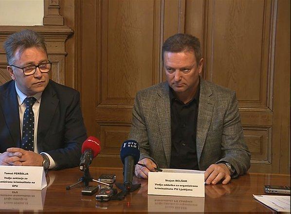 Kriminalisti odkrili kriminalno združbo, ki je v Slovenijo pretihotapila 73 ...