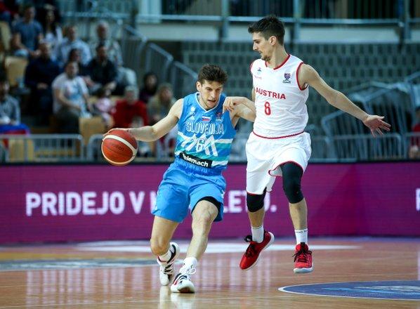 Slovenski košarkarji namesto z Madžarsko v nedeljo proti Avstriji