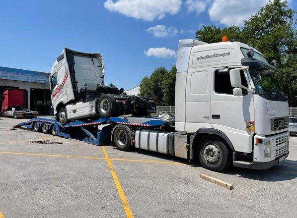 Družba Žonta je morala vrniti makedonski tovornjak, ki ga je zadrževala od ...