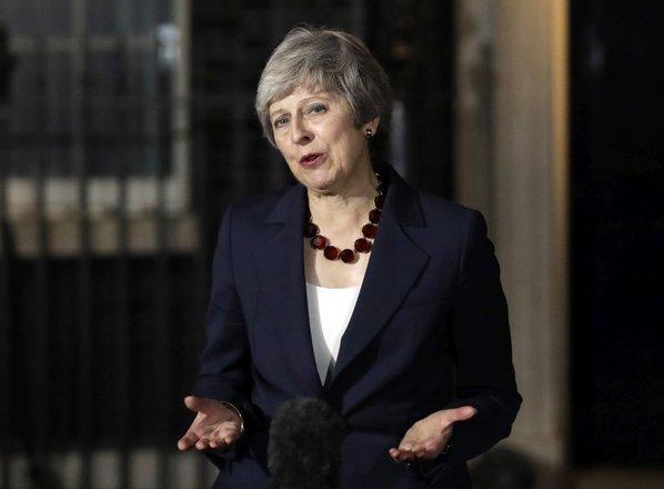 Mayeva prvič dopustila možnost, da se brexit ne bo zgodil