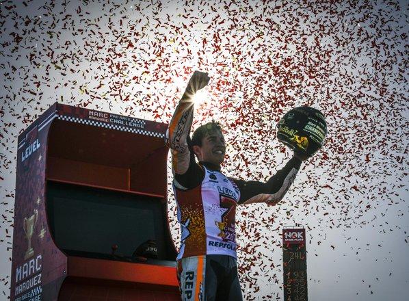 Marquez zadel 'sedmico': Španec je svetovni prvak!