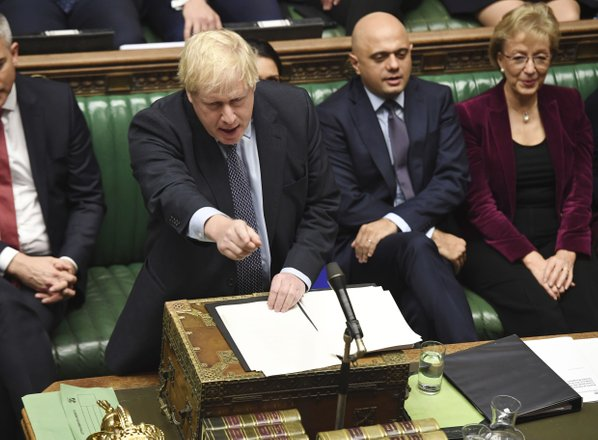 Johnson: Z Brusljem se ne bom pogajal za novo preložitev brexita