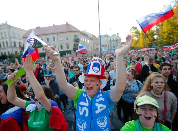 V Sloveniji prvič obeležujemo dan slovenskega športa