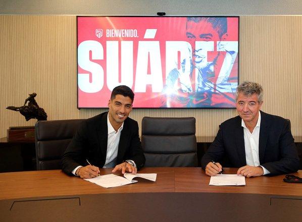 Simeone dočakal pomembno okrepitev: Suarez uradno član Atletica