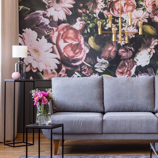 Pomlad v domu s cvetličnim vzorcem