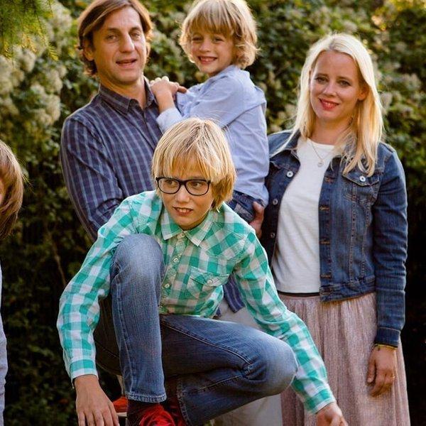 Veseli trenutki znane slovenske družine