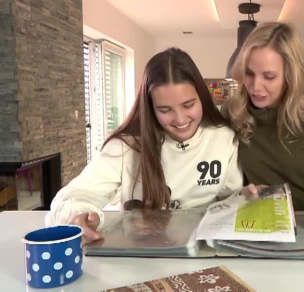 VIDEO: Tinkara s svojo hčerko o Bepopu