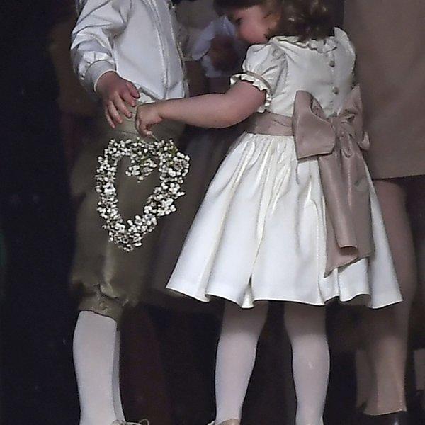 Se bo ponovilo to? Princ George in princesa Charlotte na Pippini poroki