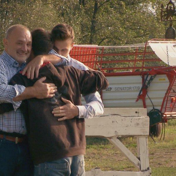 Ganljiva družinska srečanja na Kmetiji