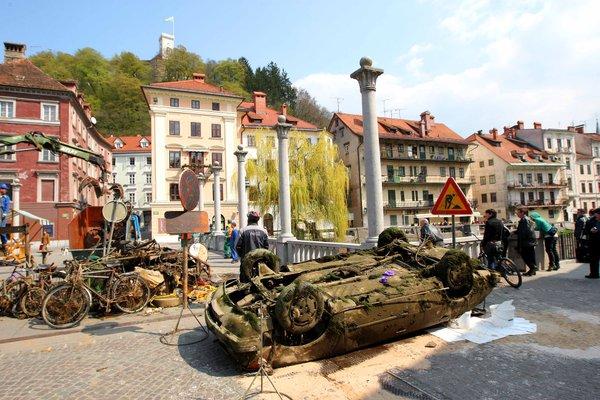 Čiščenje Ljubljanice