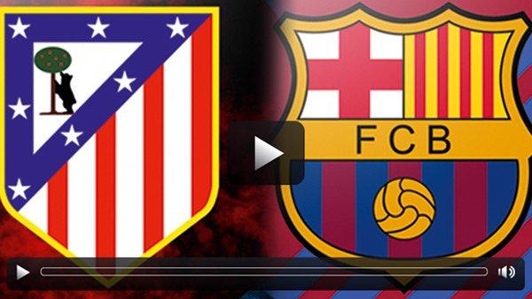 Atletico Madrid : Barcelona