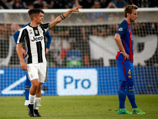 Paulo Dybala Juventus proti Barceloni - 2