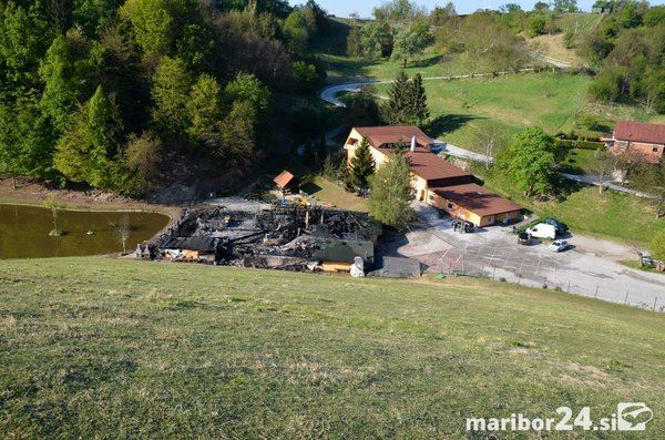 Požar v Mariboru - 2