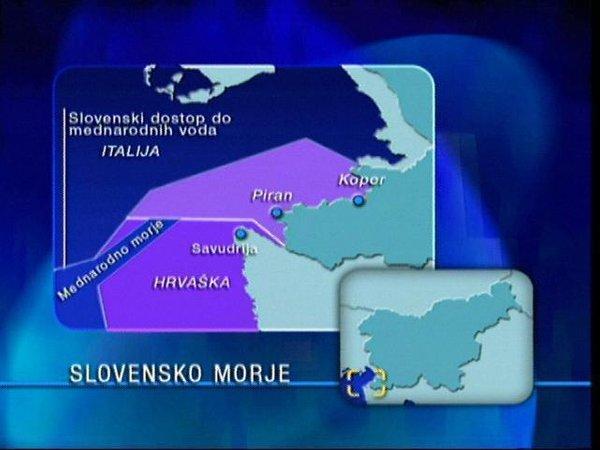 Meja Slovenija Hrvaška morje