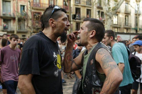Protest v Barceloni