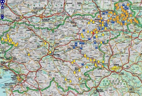 Zemljevid Spin