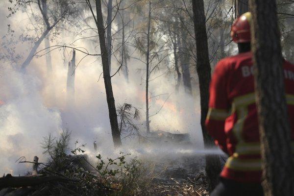 Požar na Portugalskem