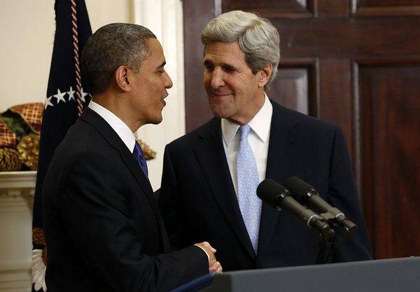 Barack Obama in John Kerry