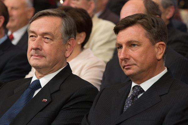 Danilo Türk in Borut Pahor