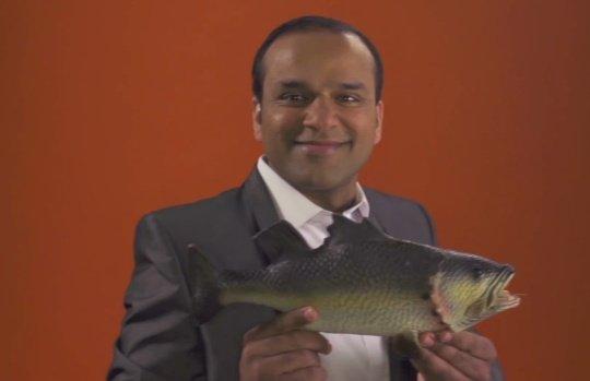 One Pound Fish Man (Muhammad Shahid Nazir)