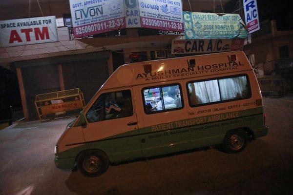 Indijsko reševalno vozilo