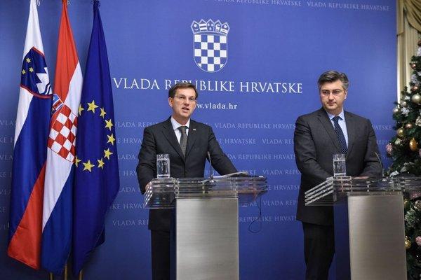 premierja Cerar in Plenković