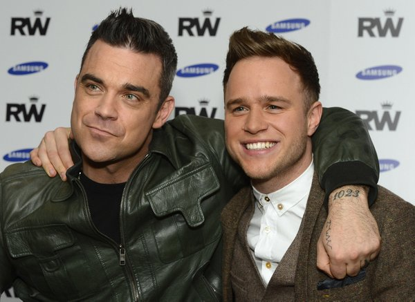 Robbie Williams in Olly Murs