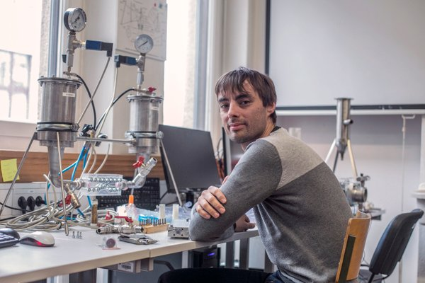 Mladi znanstvenik Matevž Dular