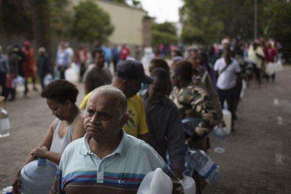 Suša v Južnoafriški republiki