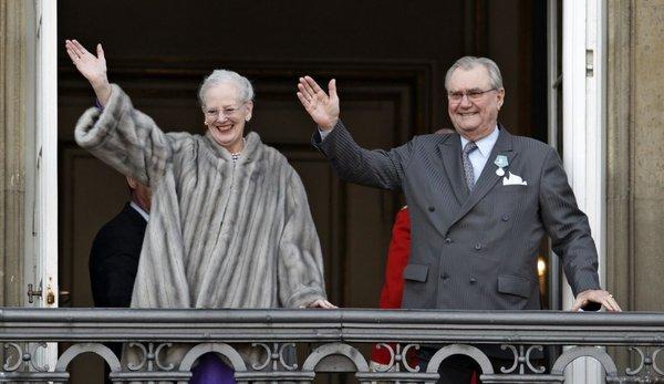 Princ Henrik in kraljica Margareta