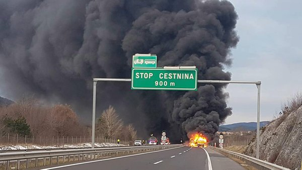 Nesreča na avtocesti Gabrk–Fernetiči