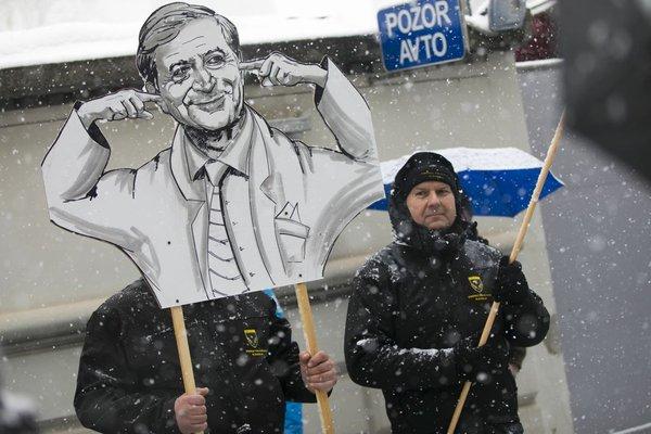 Stavka in protestni shod policistov - 4