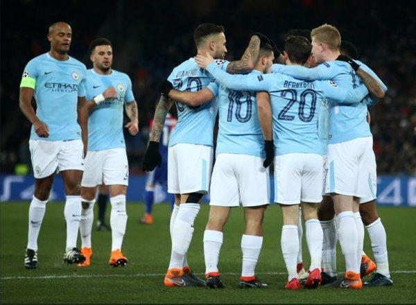 Manchester City slavje