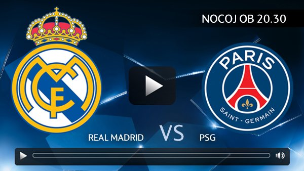 Real Madrid : PSG