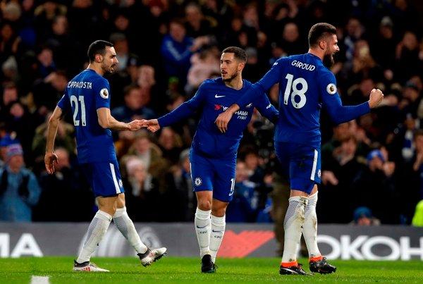 Eden Hazard Chelsea WBA