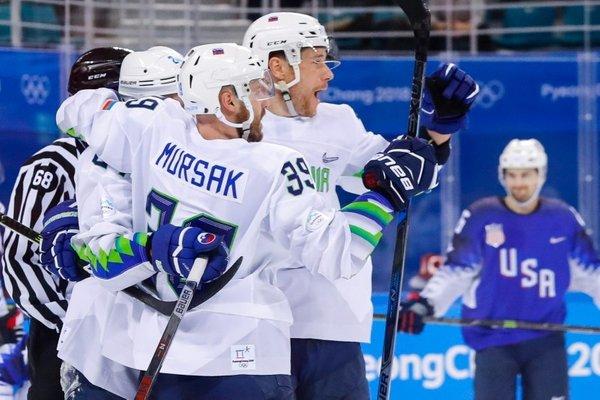 Hokej Slovenija - ZDA na OI - 16