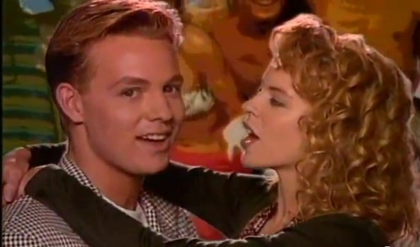 Jason Donovan in Kylie Minogue