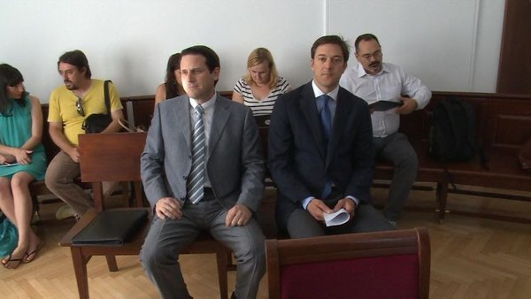Martin Kovač in Marko Volk
