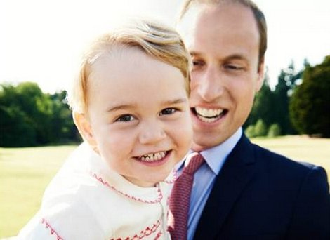 Princ William in sin George