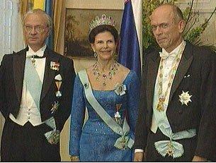 Švedski kraljevi par