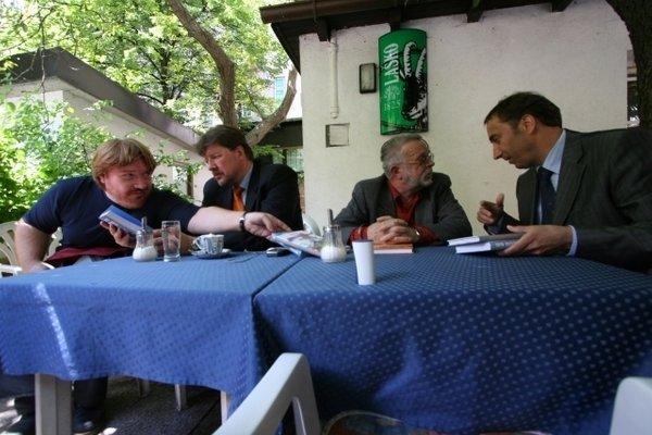 Ivan Borštner, David Tasič, Franci Zavrl, Igor Bavčar