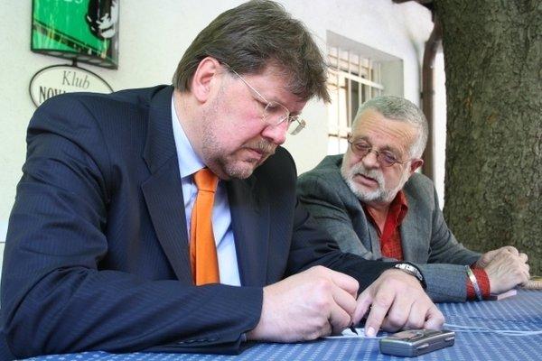 Igor Bavčar in Ivan Borštner