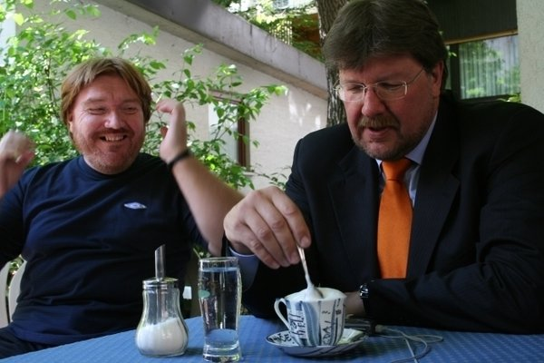David Tasič in Igor Bavčar