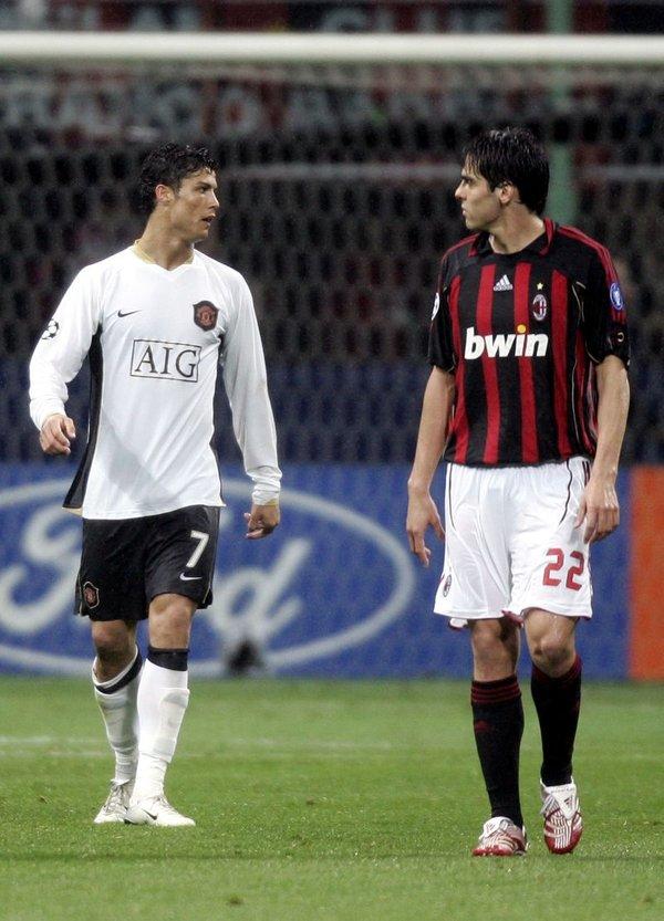 Kaka in Ronaldo