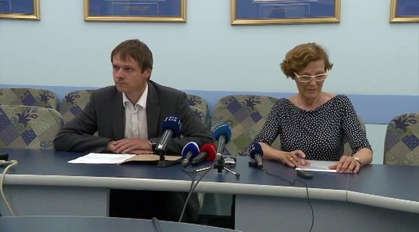 Andraž Kopač in Marija Pfeifer