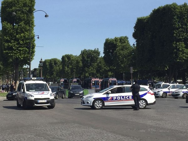 Incident v Parizu - 2