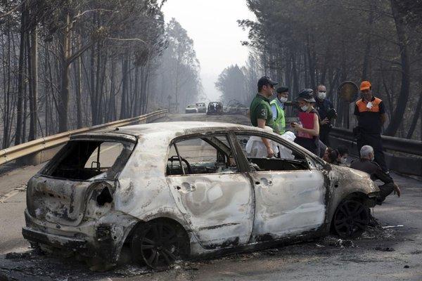 Požar na Portugalskem - 3