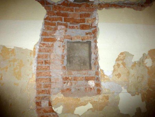 Najdba v steni Gimnazije Kranj - 5